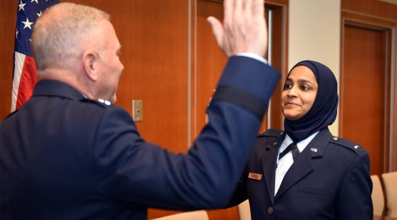 first Muslim woman chaplain