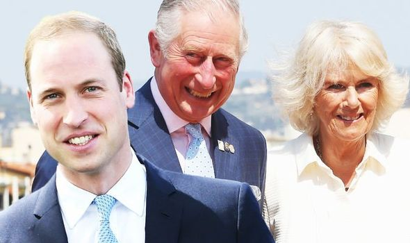 Prince William; Prince Charles and Camilla