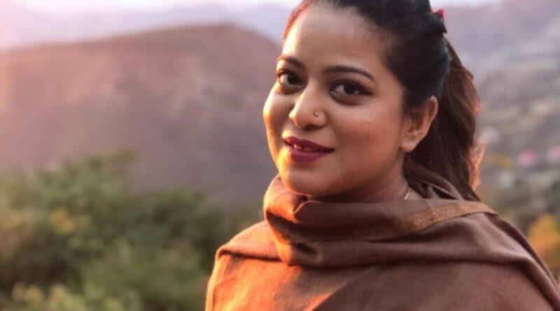Student Safoora Zargar. Photo: Handout