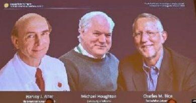 طب کا نوبل انعام دو امریکی، ایک برطانوی سائنس دان کے نام